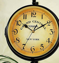 Vintage Double Face European Style Wall Clock Unique Home Decorations
