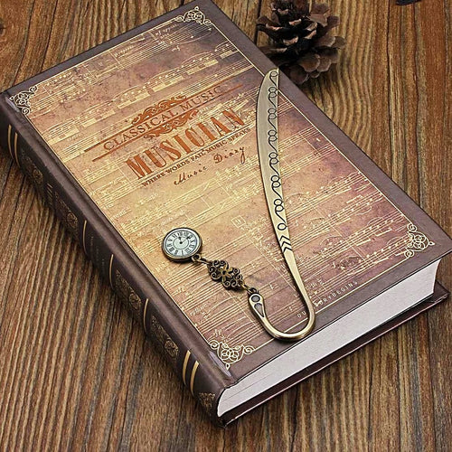 Vintage Bronze Bookmark