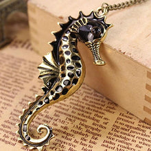 Vintage Seahorse Pendant Necklace Unique Gifts for Sea Life and Ocean Lovers