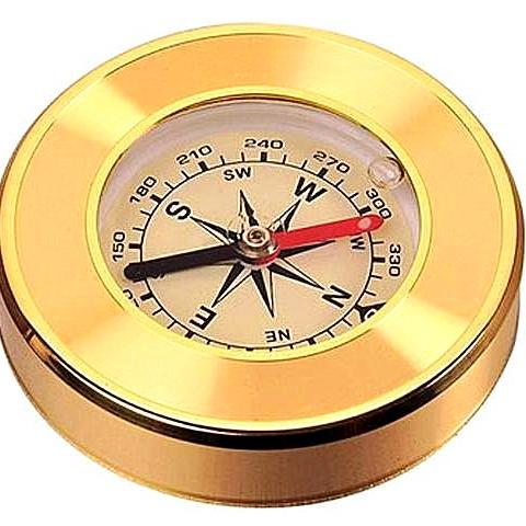 Gold Marching Lensatic Compass Gifts for Travelers Gifts for Grandad