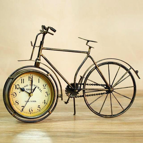 Vintage Bicycle Desktop Clock