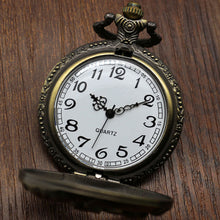 Vintage Bronze Hollow Horse Pocket Watch