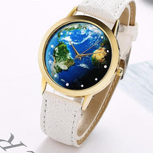 Blue Planet World Map Watch for Women