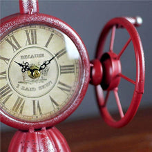 Vintage Sewing Machine Desktop Clock -Unique Gifts for women -vintage gifts -gifts for seamstress