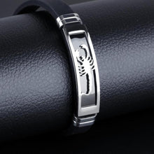 Stainless Steel Scorpio Zodiac Bracelet for Men