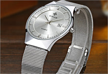Steel Strap Ultra Thin Men's Watch Gifts for Him