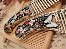 Vintage Dragonfly Hair Comb