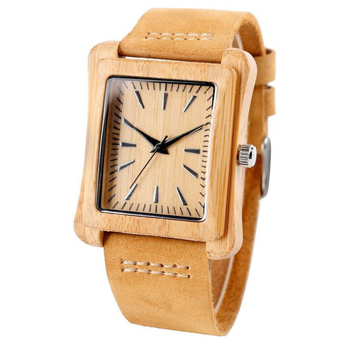 Handmade Bamboo Wood Watch for Men