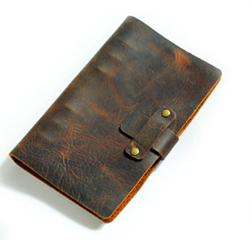 Handmade Refillable Leather Travel Journal Unique Gifts for Travelers