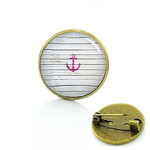 Vintage Nautical Themed Badges Anchor Badge