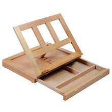 Wooden Folding Portable Artist Desk