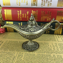 Legendary Hollow Aladdin Genie Lamp Incense Burner Unique Home Decoration