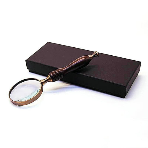 High Quality Wooden Handle Magnifying Glass Unique Gifts for Grandparents