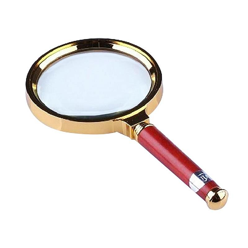 Vintage Wooden Handle Magnifying Glass Unique Gifts for Grandparents