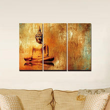 Oil Effect Buddha Canvas Wall Art Home Decor Gifts Buddha Canvas Print