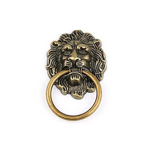 Vintage Lion Head Furniture Door/Drawer Handles Unique Home Decoration Unique Gifts for Grandpa