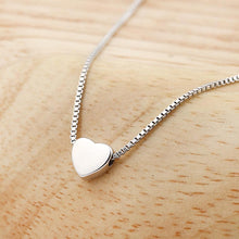 Small Minimalist Heart Necklace Unique Gifts for Women