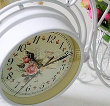 Retro Bicycle Double-sided Table Clock Unique Home Decor Gifts