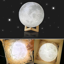 3D Print LED Moon Night Lamp Unique Home Decor Gifts