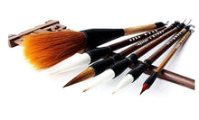 Woolen Hair Bamboo Calligraphy Brush Pen Set - Calligraphy Gifts