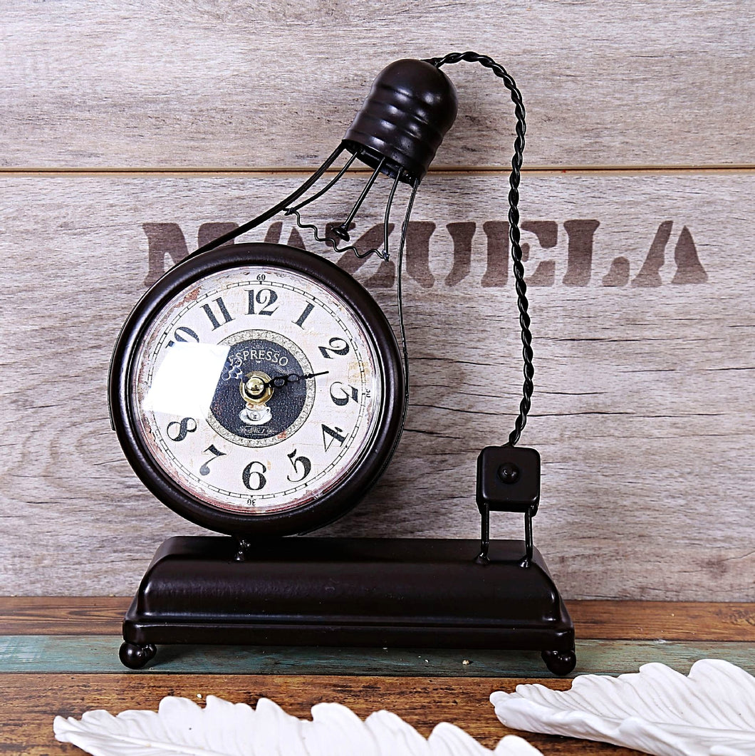 Handmade Vintage Decorative Table Clock Unique Home Decor Gifts