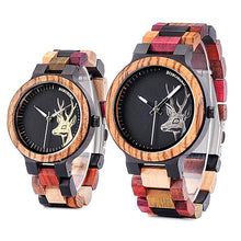 BOBO BIRD Mixed Bamboo Wood Watch Unique Watch Unique Gifts