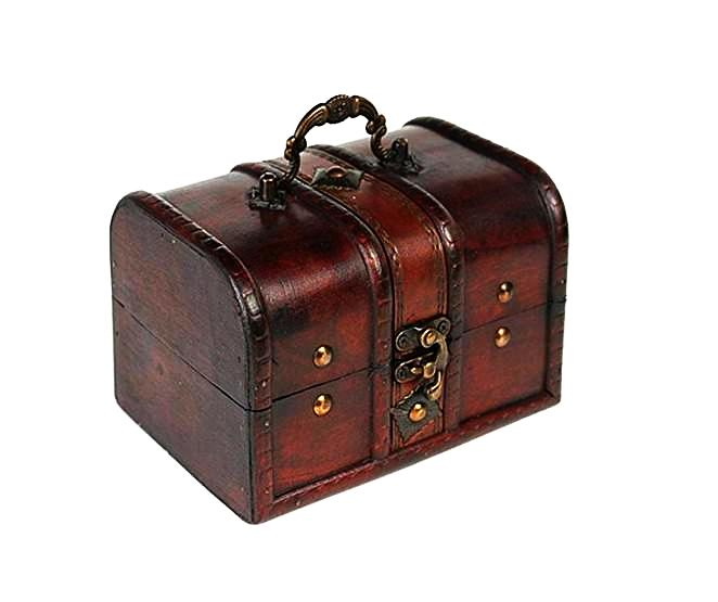 Vintage Trunk Jewellery Box Unique Gifts for Grandma Home Decor