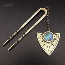 Bohemian Style Vintage Triangle Hair Stick Unique Gifts for Women