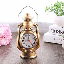 Vintage Oil Lamps Clock Set Unique Home Decor Gifts