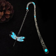 Glow in the dark Dragonfly Bookmark Unique Gifts for Book Lovers