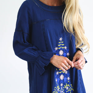 Daphne Embroidered Dress