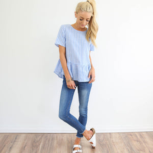 Cayden Stripe Top