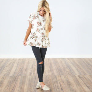 Cassandra Printed Top