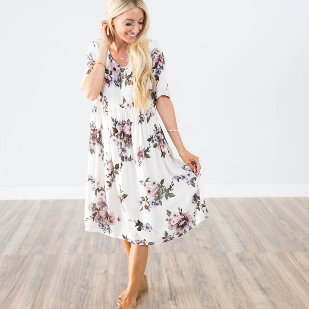 Connie Floral Dress
