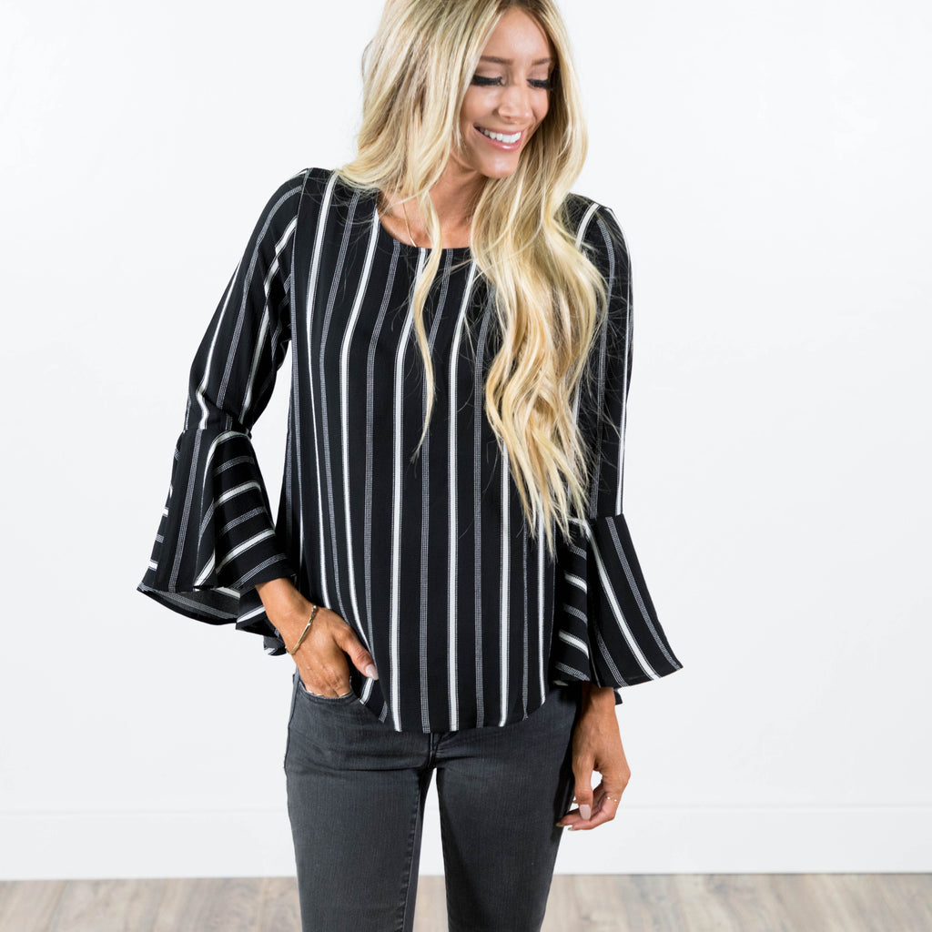 Camille Top in Black