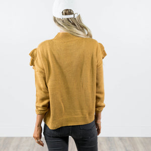 Savana Ruffle Sweater