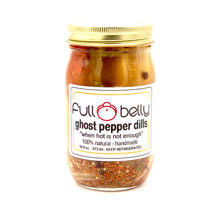 ghost pepper dill spears - 16oz