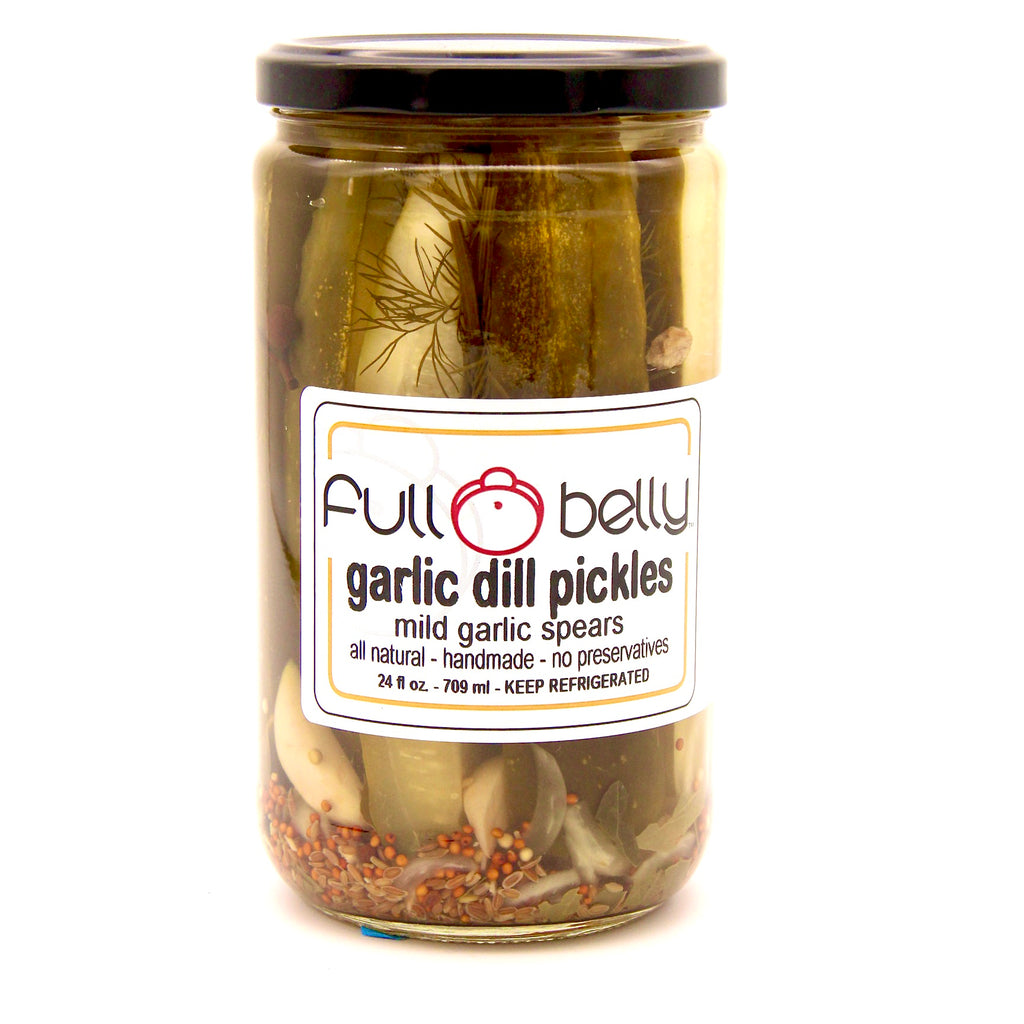 garlic dill pickle spears - 24oz