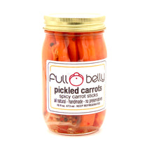 pickled carrot sticks - 16oz