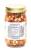 hot giardiniera - (OIL FREE) - 3g Total Carbs