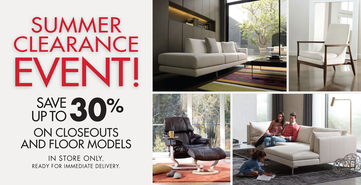 Summer Furniture Clearance Event - In Store Only