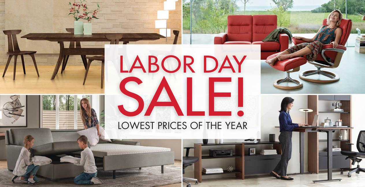 Labor Day Furniture Sale. Savings On Our Best Brands!