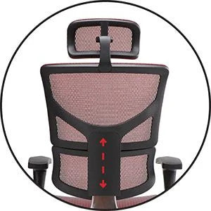 X-Chair - Height Adjustable Backrest