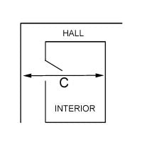 Hall Diagram - Measuring for Fit