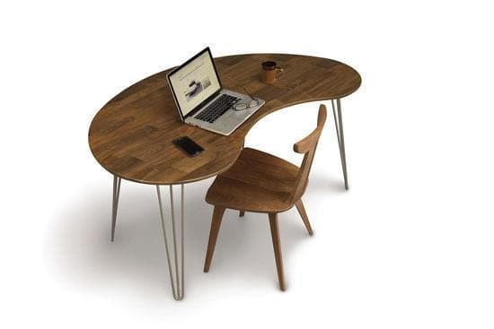 Copeland Essentials Kidney Shaped Desk