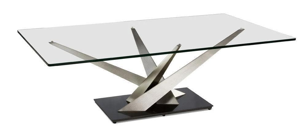 Elite Modern Crystal Coffee Table