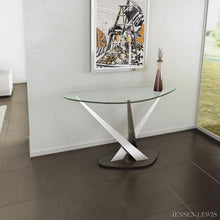 Elite Modern Crystal Console Table
