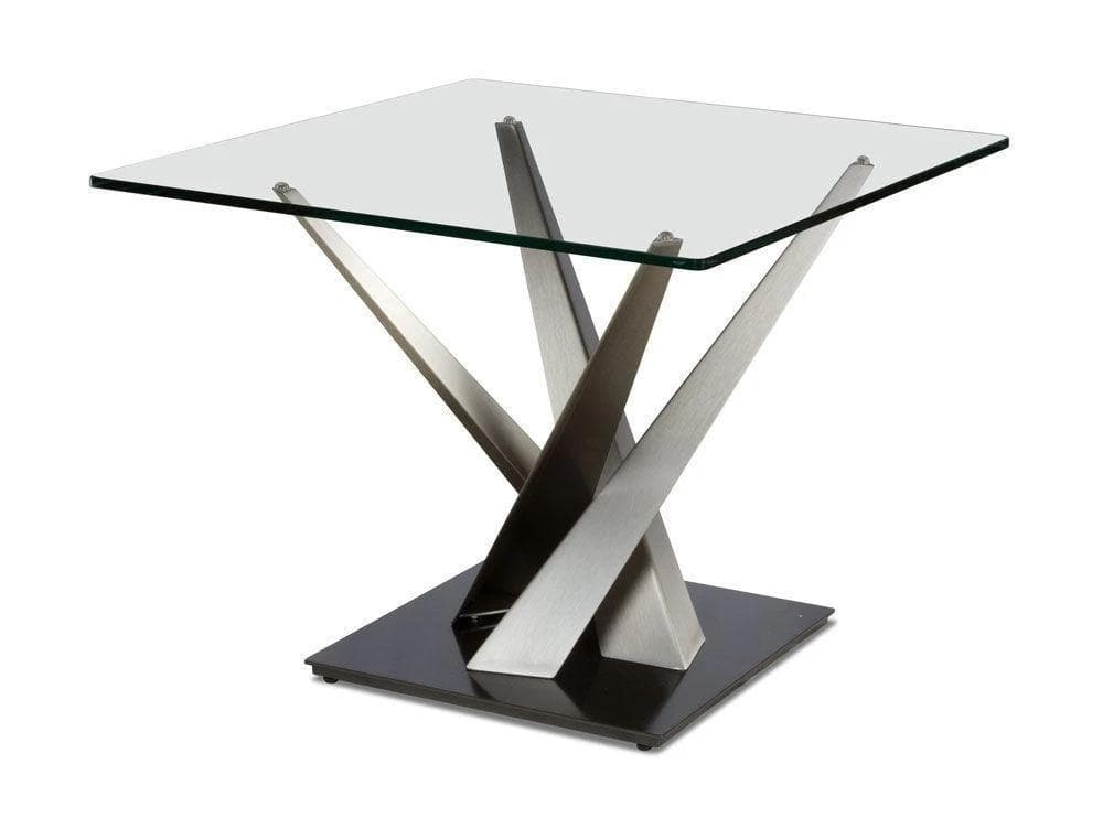 Elite Modern Crystal End Table