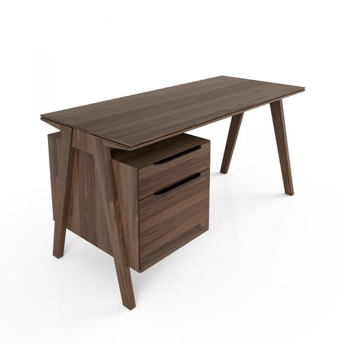 Huppe Huppe Howard Wood Top Desk - Huppe