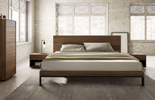 Mobican Bora Bed with Wood Headboard